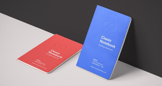 classic psd notebook mockup vol4 psd mock up templates