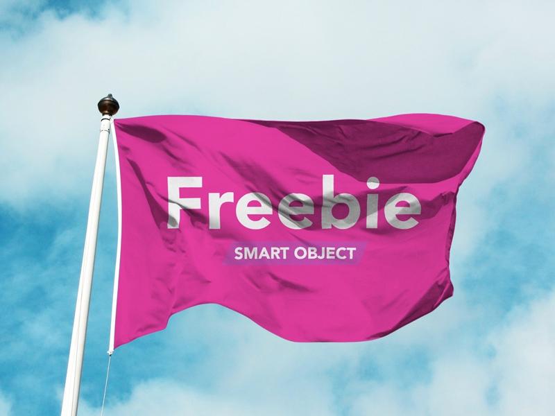 flag mockup free psd template psd repo