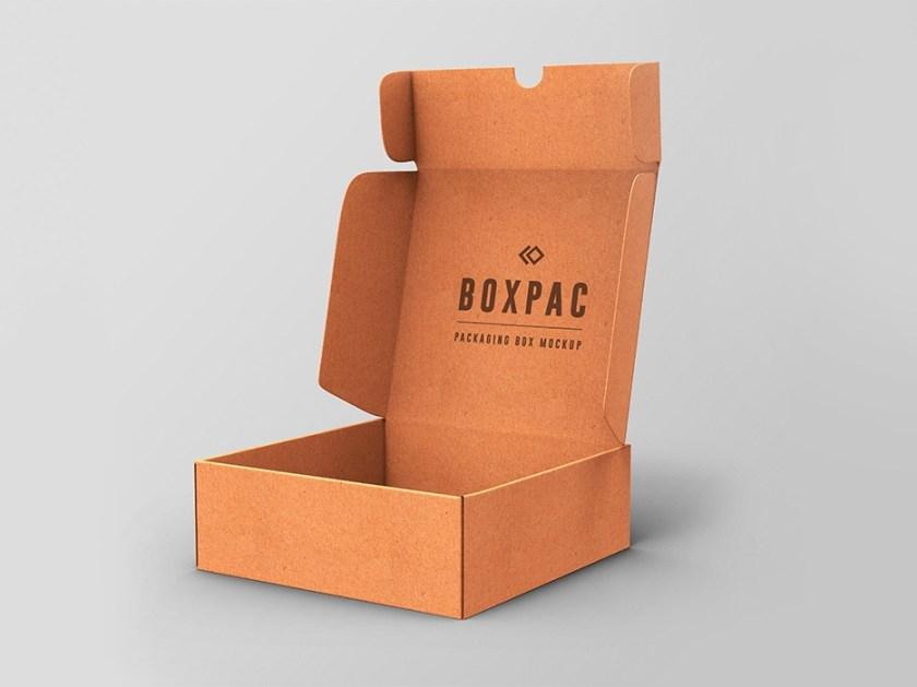 food packaging box mockup graphicsfuel rafi on dribbble