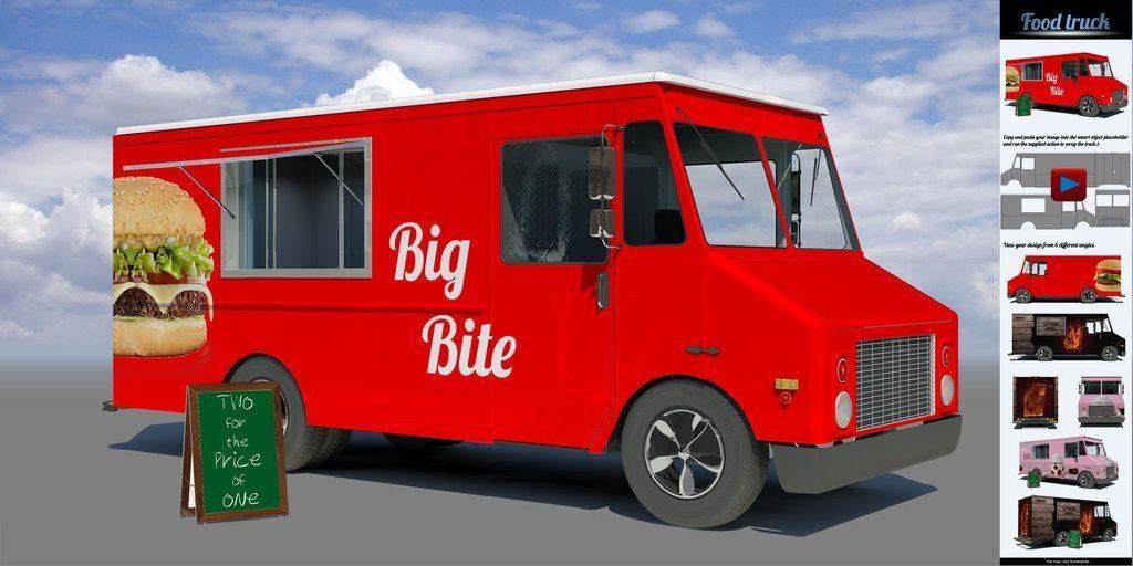 food truck autward design food truck mock up sanchi477