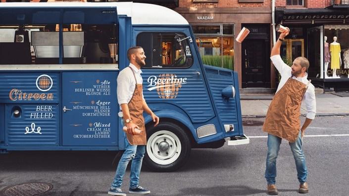 food truck free mockup pinspiry