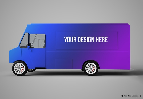 food truck mockup buy this stock template and explore similar