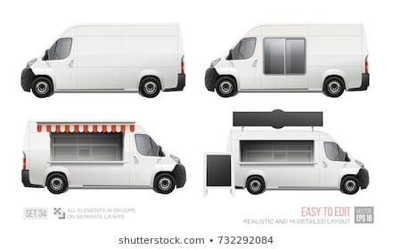 food truck mockup images stock photos vectors shutterstock