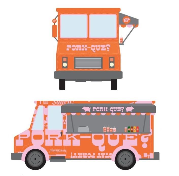 food truck mockups mock up stuff food truck food design mockup