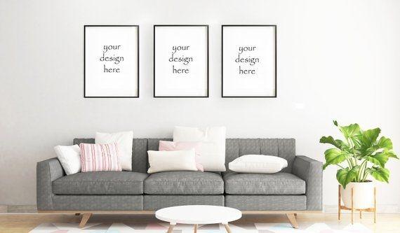 frame mockup frame mock up simple mockup living room