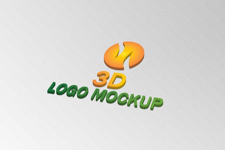 free 3d logo mockup psd download free psd ai eps graphic design