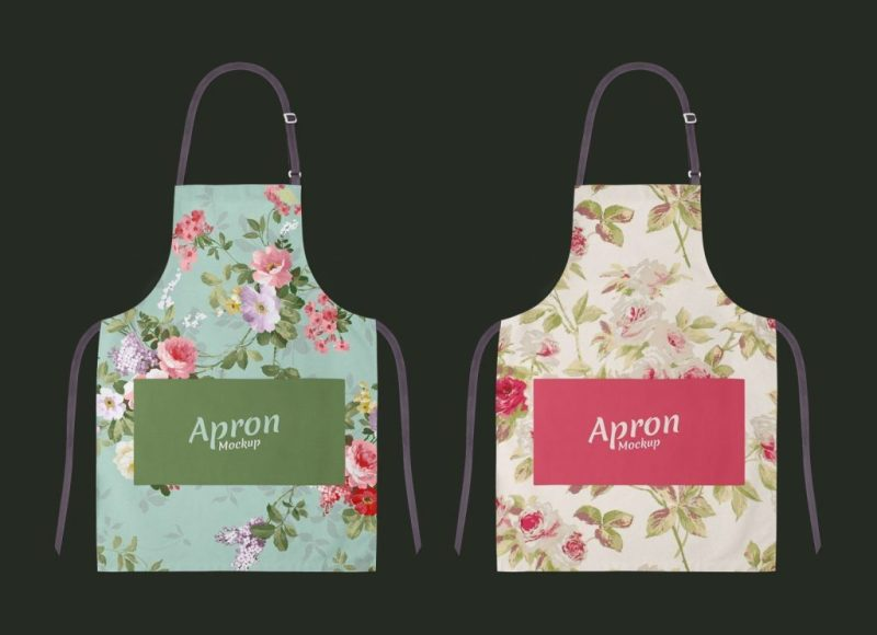free apron delantal mockup psd good mockups