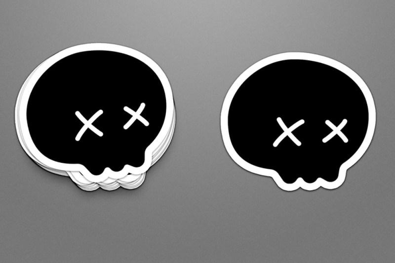 free download sticker mockup in psd designhooks