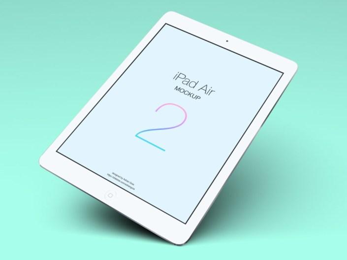 free ipad air tablet mockup pixlov
