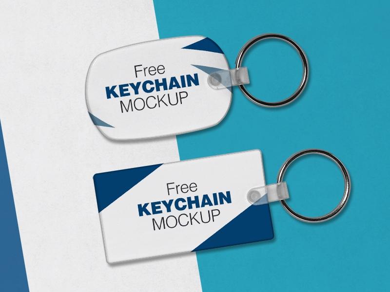 free keychain mockup psd files zee que designbolts on dribbble