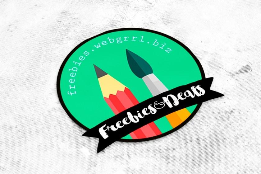 free mockup die cut sticker freebies deals for graphic