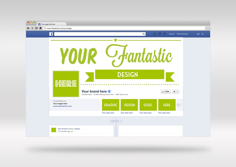 free mockup psd facebook cover template freebies deals for