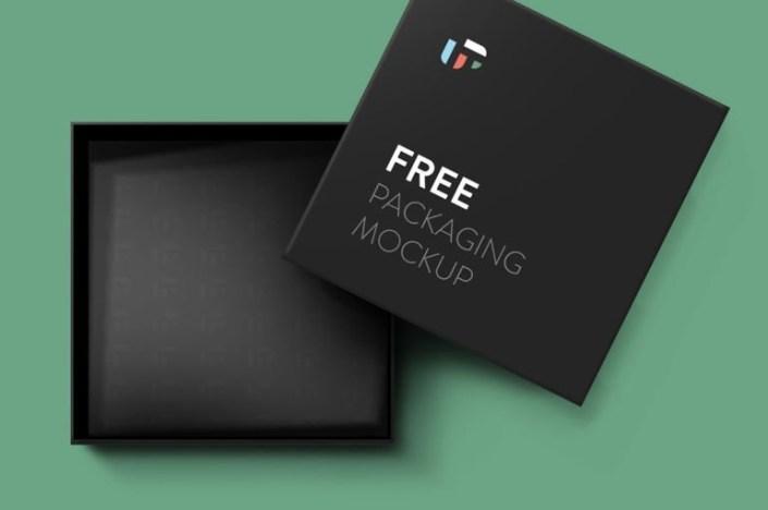 free square box mockup