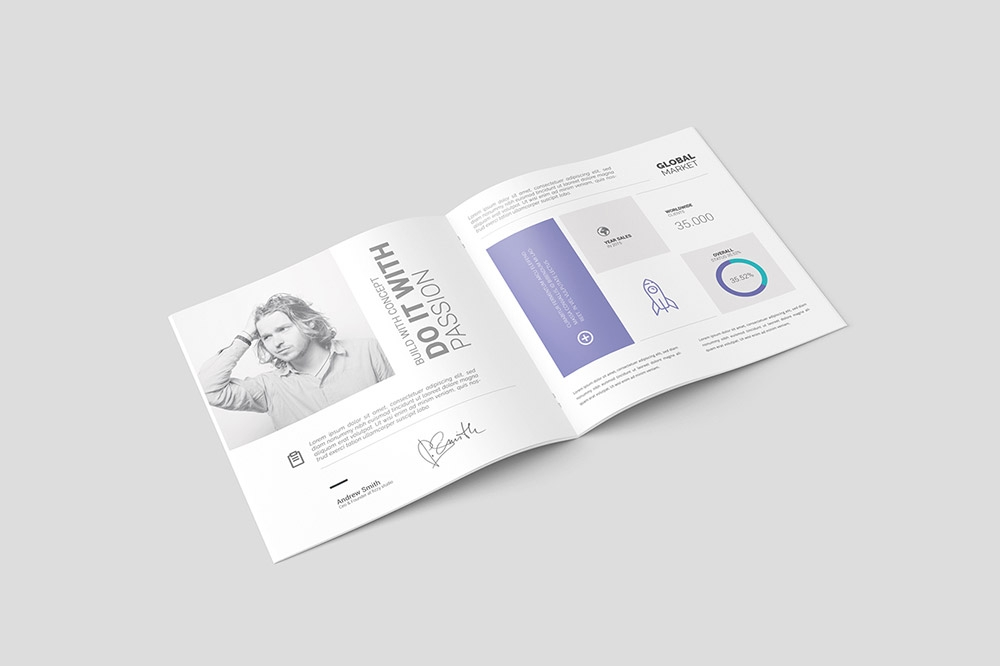 free square brochure mockup psd mockuptree