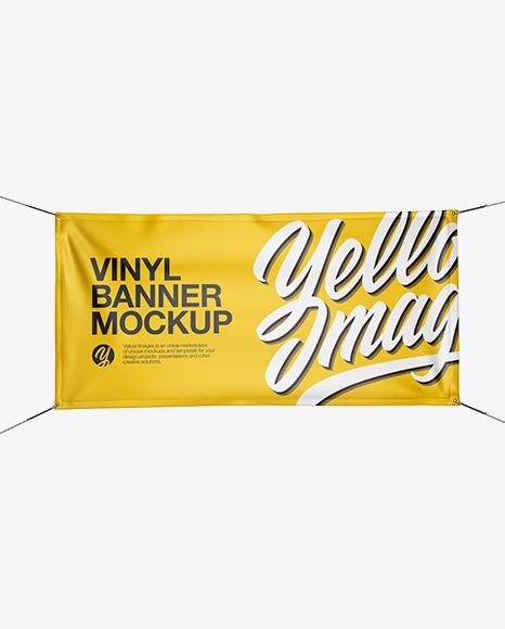 glossy vinyl banner mockup free psd mockups templates