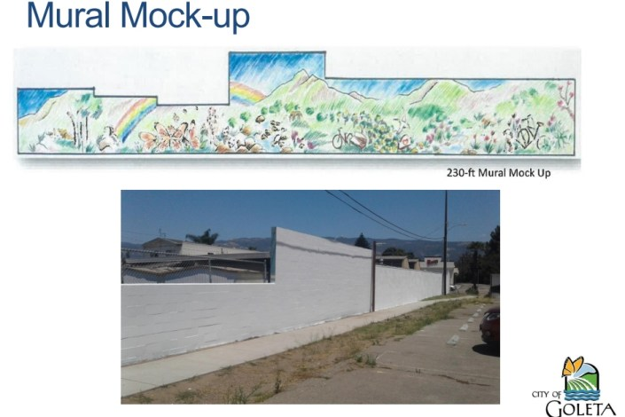 goleta valley community center mural project gets ok from