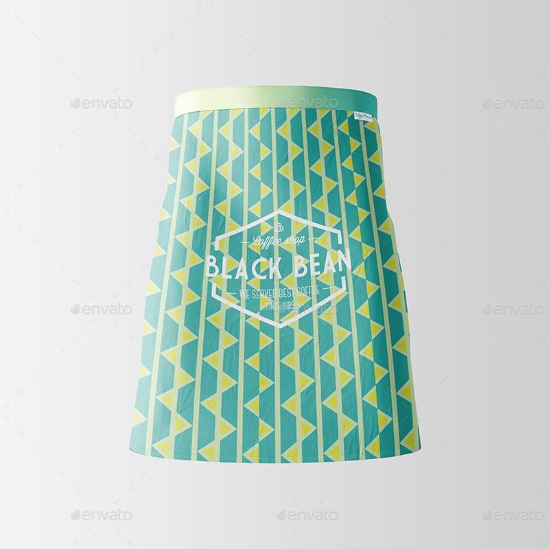 half waist apron mockup 3 types 02