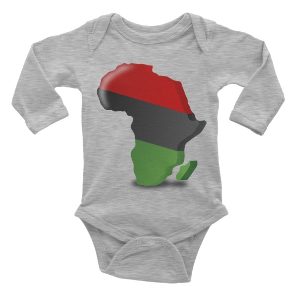infant africa long sleeve onesie sold thetoistore