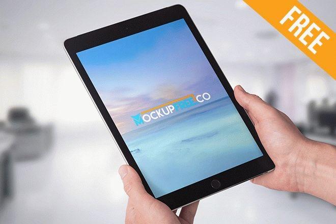 ipad tablet hand hold free psd mockup free psd templates