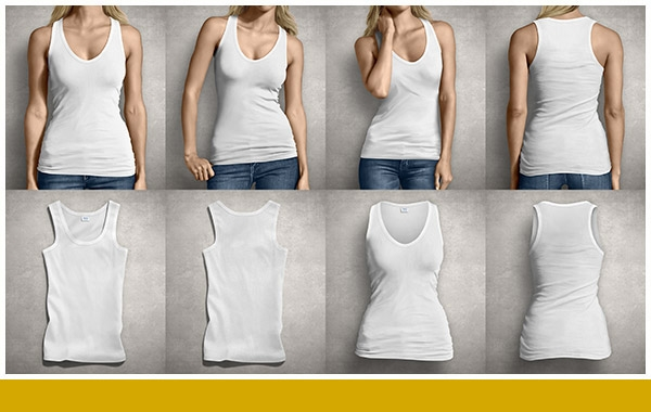 ladies tank top mockup on behance