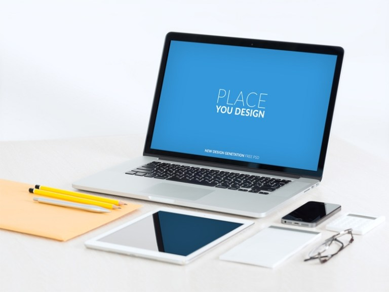 laptop mockup free psd template psd repo