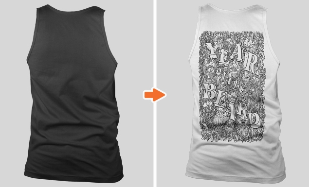 mens non ribbed tank top mockup templates pack