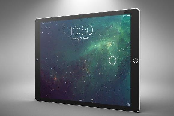 new ipad pro tablet mockup