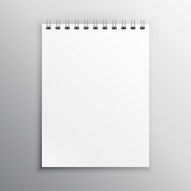 notebook mockup vector free download