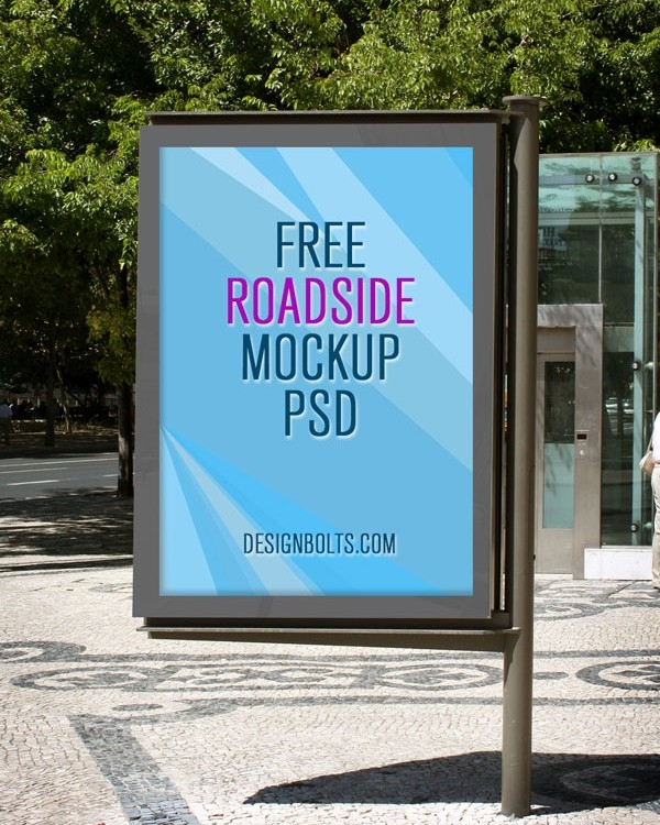 outdoor advertising mockup mockupworld
