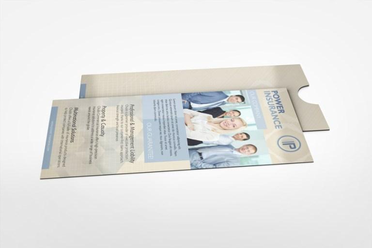 pocket rack card mock up idesignstudio