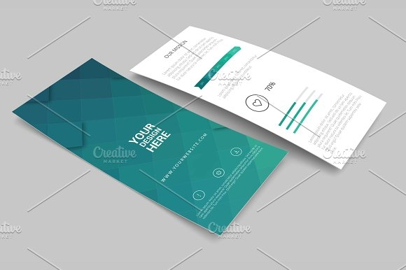 rack card and brochure mockup 2