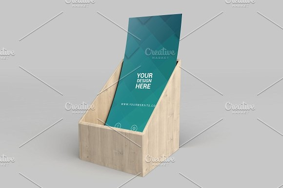 rack card and brochure mockup 7