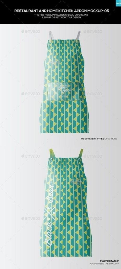 restaurant and home kietchen apron mockup 05 19477263