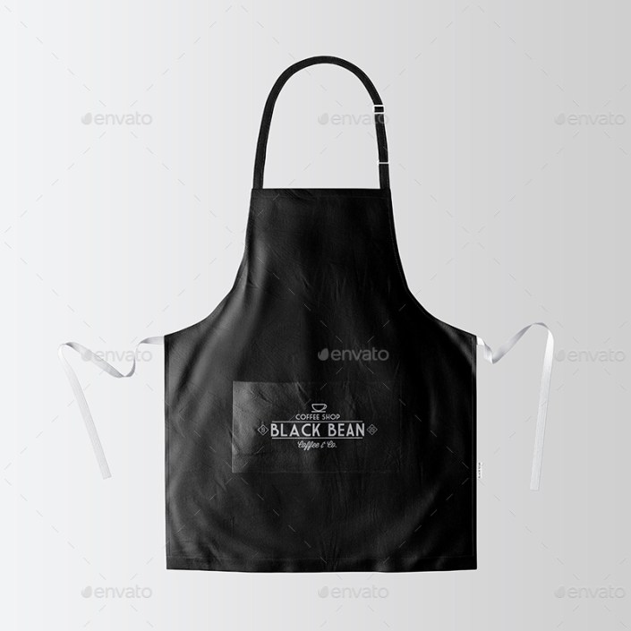 restaurant and home kietchen apron mockup 07