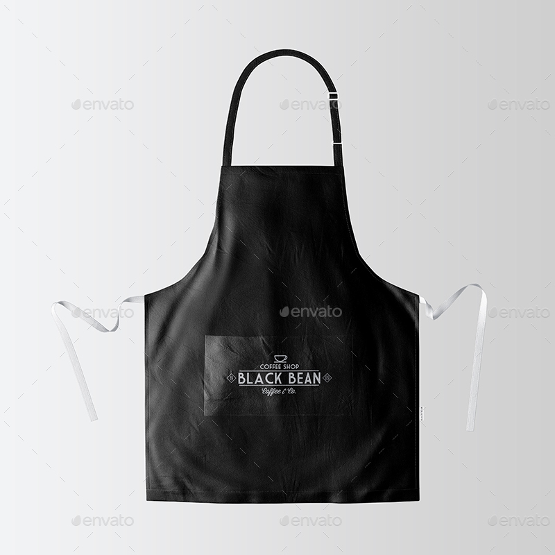 restaurant and home kietchen apron mockup 07