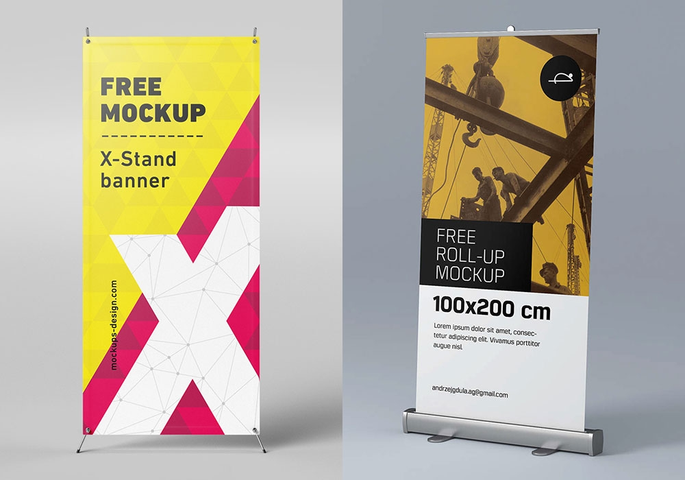 Download Mockup Design Banner Yellowimages