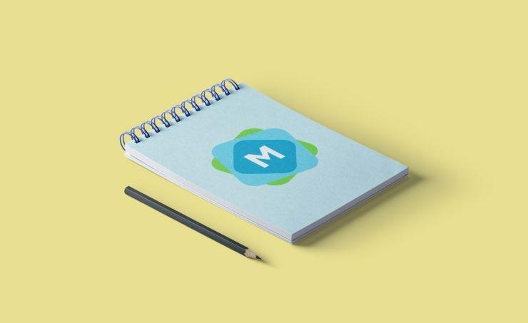 spiral bound book mockup mockup templates