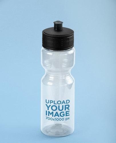 translucent sports bottle mockup 24444