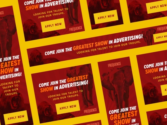 web banner ads frequence witty walrus