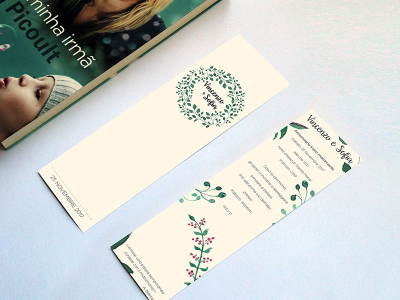 wedding bookmark template free psd template psd repo
