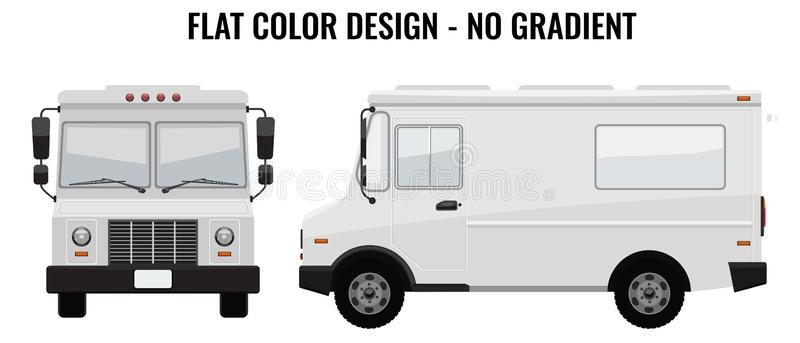 white food truck stock illustrations 3803 white food truck stock