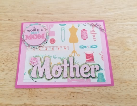 Mothers Birthday Card - candacefaber.com