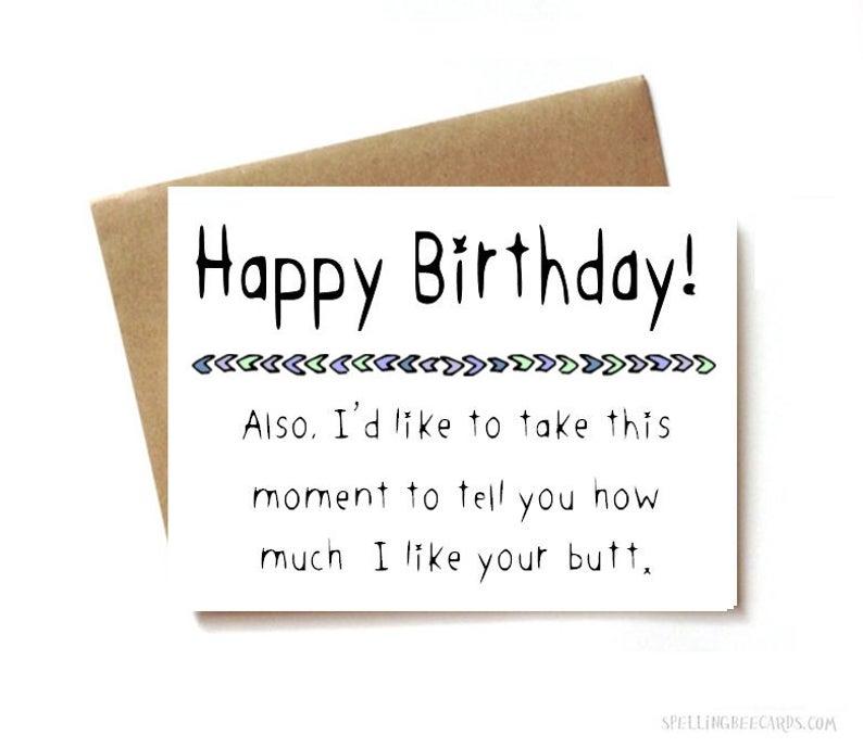 boyfriend birthday card girlfriend birthday card husband birthday card wife birthday card sexy birthday card take this moment