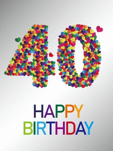 40th Birthday Card - candacefaber.com