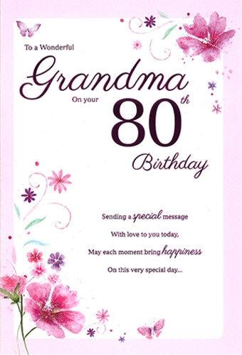 Birthday Card For Grandma - candacefaber.com
