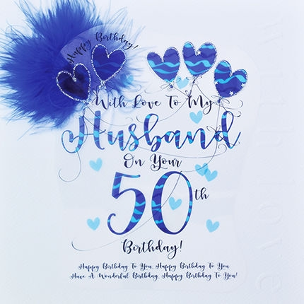 50th Birthday Card - candacefaber.com