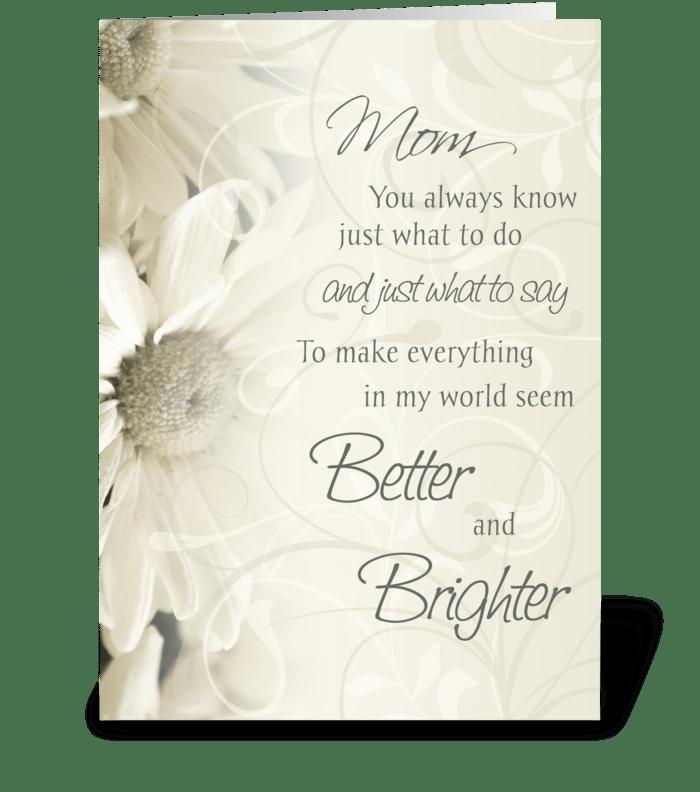 "Happy Birthday Mom Card - candacefaber.com"" title="