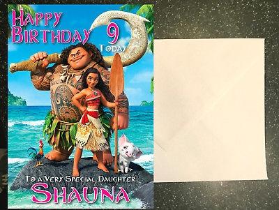 Moana Birthday Card - candacefaber.com