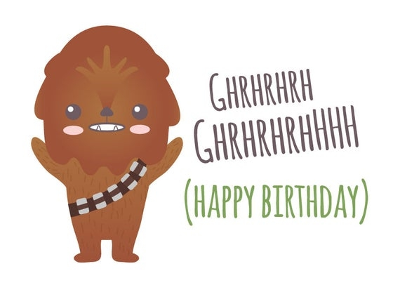 "Star Wars Birthday Card Printable - candacefaber.com"" title="