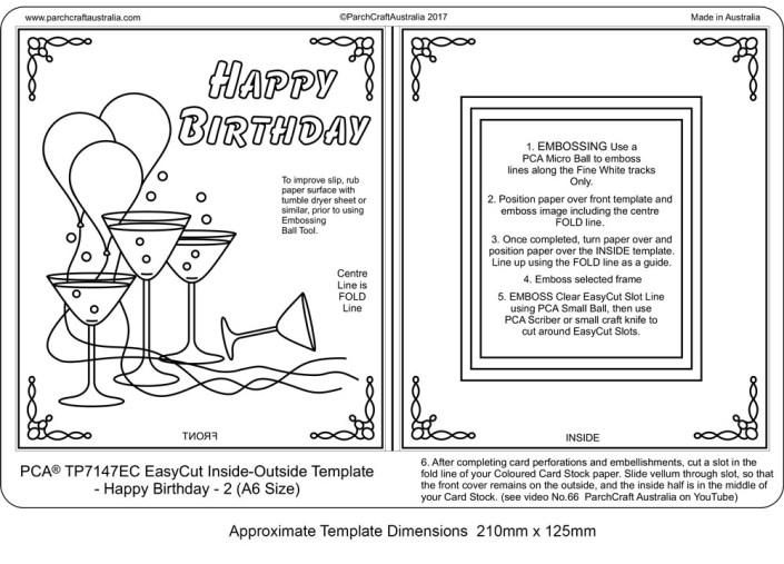 Birthday Card Dimensions - candacefaber.com